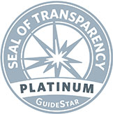 GuideStar Seal of Transparency Platinum
